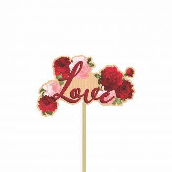 Pick MDF Lady Love 54mmx85mm 1pç Natural