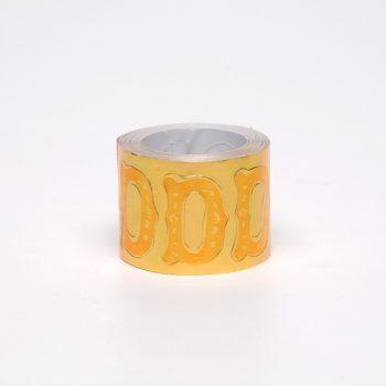 Etiqueta Adesiva Coroa 200pc D