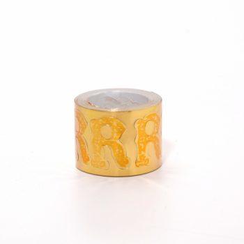 Etiqueta Adesiva Coroa 200pc R