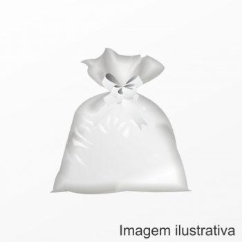 Saco Poli Liso 45cmx60cm 25pc Incolor