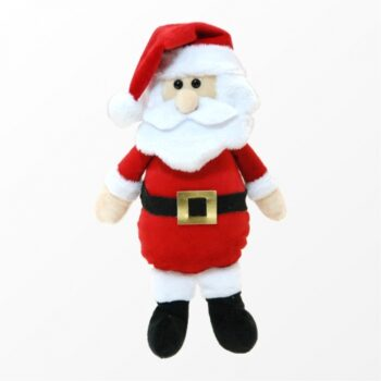 Decorativo Pelúcia Papai Noel 30cm Vermelho