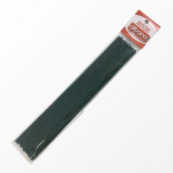 Arame Pintado N.º 18 1.22mmx25cm 100pcs Verde Escuro