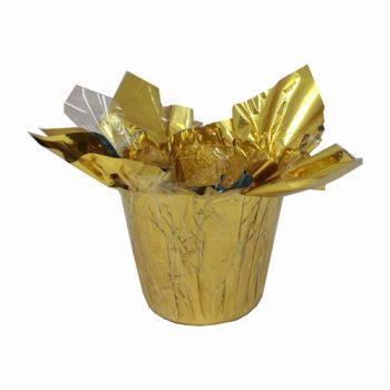 Speed Cover Metalizado Pote 14 /15 Unidade Ouro