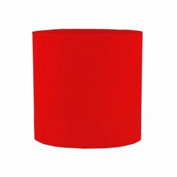 Cachepot Acrílico Redondo Liso 15cmx15cm 1pç Vermelho