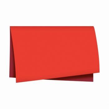 Poli Dupla Face Paper Look 68cmx65cm 25fls Vermelho/Cereja