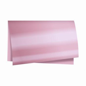 Poli Dupla Face Metalizado 68cmx65cm 25fls Rosa/Rosé