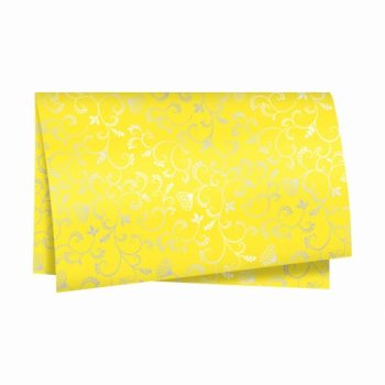 Poli Flora 49cmx69cm 50fls Amarelo