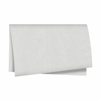 Papel Kraft Liso Impermeável 70cmx80cm 25fls Branco