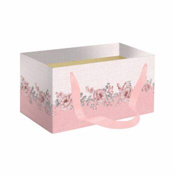 Caixa Kit Soft Fly 20cmx12cmx10cm 1pç Rosa