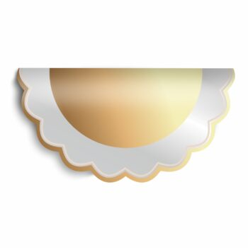 Poli Redondo Line 68 50fls Ouro/Nude