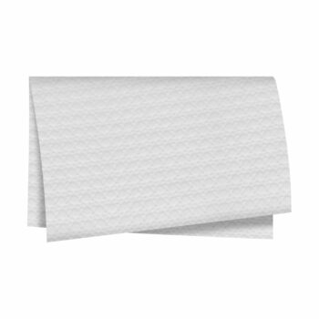Papel Com Relevo Palha Indiana 68cmx79cm 20fls Branco