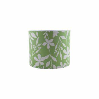 Cachepot Acrílico Foliage Pote 11 Verde/Branco