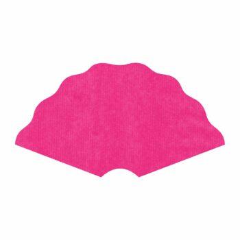 Leque Kraft Color 40cmx80cm 25fls Pink