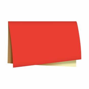 Poli Sujinho Dupla Face 49cmx69cm 40fls Vermelho/Ouro