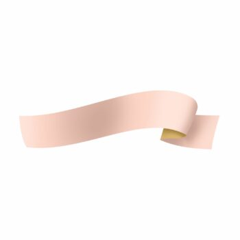 Fita Maxi Paper Look Dupla Face Laminada 32mmx100m Rosa/Ouro